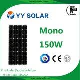 Énergie solaire mono des prix 150watt de haute performance solaire de Yy la meilleure