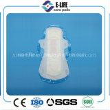 serviette hygiénique remplaçable d'utilisation de nuit de l'utilisation 320mm de jour de 280mm avec des ailes