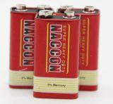 Batterie des Kohlenstoff-Zink-6f22 9V