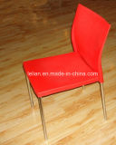 Бистро поднимают стул с задней частью и местом пластмассы для обедать мебель (LL-0010)