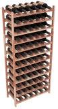 Scaffalatura di legno commerciale della cremagliera del supporto della bottiglia da birra del vino