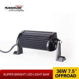 Barra chiara luminosa del doppio LED di doppia della pila del CREE 7.5 di pollice 36W cena fuori strada popolare della strada