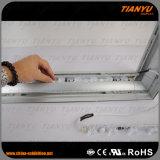 Casella chiara di pubblicità di alluminio di Frameless LED