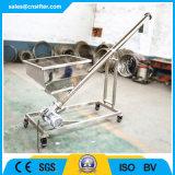 Transporte de parafuso de vibração Inclined com funil