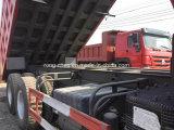 Verwendeter 6X4 Sinotruk HOWO Lastkraftwagen mit Kippvorrichtung des niedrigen Preis-für Verkauf