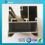 Perfil de aluminio de Liberia para el color modificado para requisitos particulares puerta de la ventana