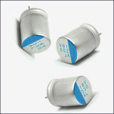 Tampão contínuo de alumínio Tmce31 do CS do capacitor do polímero condutor
