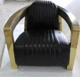 가죽 안락 의자 비행가 수고양이 의자