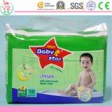 Süsse Stern-organische Baumwollwegwerfbaby-Windel des Baby-M15