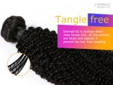 One Donor Mongolian Curly Natural Afro Kinky Human Hair