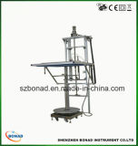 Ipx1 Ipx2 Vertical Drip Rain Testing Equipment with Turntable
