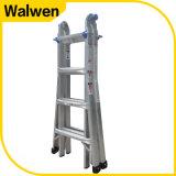 De hoge Multifunctionele Vouwende Ladder van de Steiger van het Aluminium Stength