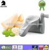 Râpe à fromage rotatif en plastique à haute qualité