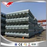 BS1387/EN10255 tubo galvanizado suave estándar del tubo de acero del grado a/B