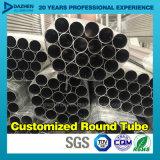 Profil en aluminium en aluminium de l'extrusion 6063 T5 pour la pipe ronde de tube
