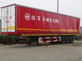 Paleta Curtain Side Van Semi Trailer
