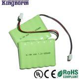 AAA600 3.6V NiMH電池のパック