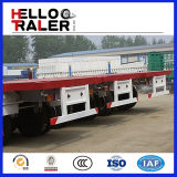 3 Radachsen 40FT Flat Bed Trailler mit Front Armor