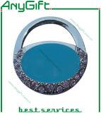 Cintre de bourse en métal de mode avec le logo et la couleur adaptés aux besoins du client