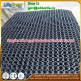 циновка толщины 1000*1000mm 15mm резиновый с циновкой Ruubber выскальзования резиновый циновки палубы отверстия анти-