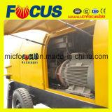 Bewegliche elektrische Motortruck-Eingehangene konkrete 90kw Zulaufpumpe mit Plättchen-Ventil