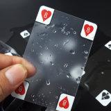 Eindeutige nette transparente PVC/Plastic Spielkarten mit transparentem Kasten