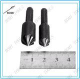 a flauta 2PCS 7 82 graus bits de broca Hex do escareador de Hcs da pata de 1/4 de polegada ajustou-se