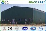 Chambre en acier de conteneur de structure en métal de construction de bâtiments de coût bas