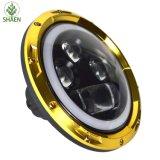 지프를 위한 60W 7inch 둥근 LED 헤드라이트