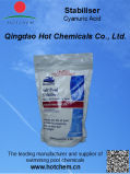 Cyanuric酸の粉の産業等級の水処理C3h3n3o3の安定装置