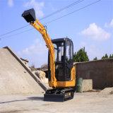 Preço barato de 2 toneladas da máquina escavadora