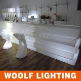 多く300デザインLED KTV棒カウンターの家具LEDのホテルの庭のプラスチック家具