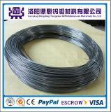 99.95% Fio puro da costa do tungstênio, vácuo que metaliza o fio de tungstênio, preço de aquecimento Dia0.7mm do fio de tungstênio
