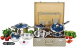 높은 Quality 16PCS Stainless Steel Cookware Set (CS116003)