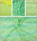 Ткань вышивки/ткань шнурка вышивки (6212)