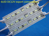 6 LEDs SMD LEIDENE van DC12V 5730 Module voor de Reclame van Tekens