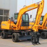 Tutti i generi marca 0.2-0.3cbm 8ton 12ton 15ton degli escavatori della rotella della Cina di nuova