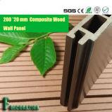 Produits en bois en plastique du panneau de mur de Decking composé durable WPC