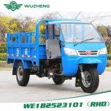 Triciclo Diesel chinês da condução à direita de Waw para a venda