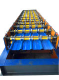 Rolo de aço do painel do telhado do metal ondulado novo que dá forma à máquina