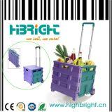 Carro de compra Foldable do bloco & do rolo (HBE-FP-1)