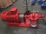Pompe fendue horizontale de diesel de lutte contre l'incendie d'enveloppe d'étape simple