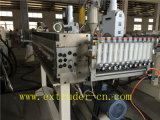 Hoja vendedora caliente del plástico de madera / alveolares hueco Hoja de Línea de Producción