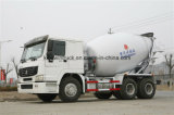 Carro del mezclador concreto de la capacidad de la marca de fábrica 6-16m3 de Sinotruk