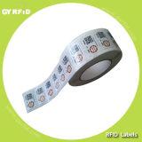 Contrassegno RFID lavabile dei vestiti di frequenza ultraelevata Gen2
