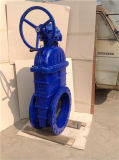 Válvula de porta Ductile flangeada do Sluice do ferro para a água