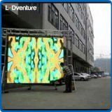 Arrendamento ao ar livre da tela do diodo emissor de luz da cor cheia grande