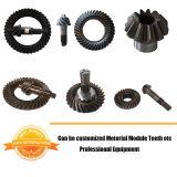 BS6012 7/40 può essere personalizzato forgiando l'attrezzo elicoidale degli ingranaggi conici di spirale della trasmissione dell'attrezzo