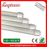 éclairage du tube 0.6m 10W LED de 110lm/W T8, garantie 5years