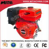 Motor de gasolina refrigerado de la gasolina del cilindro de Ohv de 4 movimientos solo